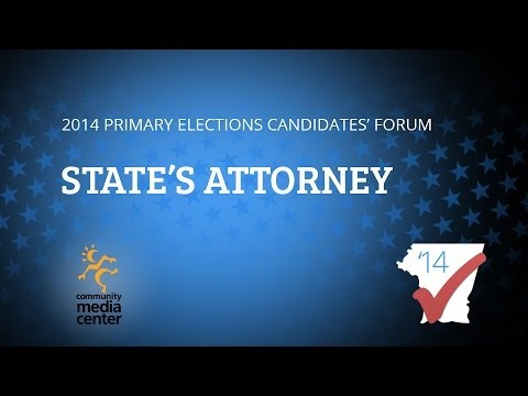State's Attorney Candidate Forum 2014