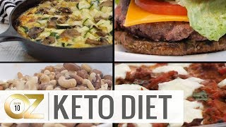 Keto-Friendly Recipes for Breakfast, Lunch and Dinner
