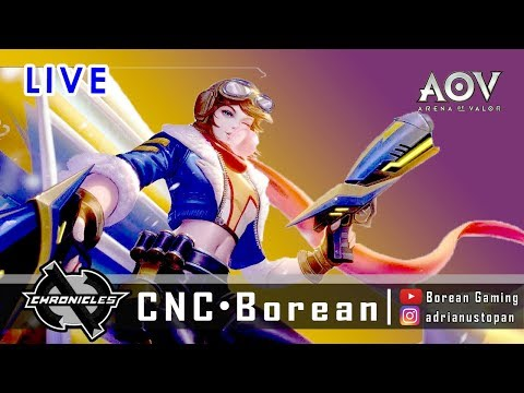 I'm back !  |  CNC Borean , AOV Player Indo (18++) orait