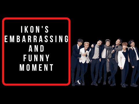 iKON's Embarrassing/Funny Moments.
