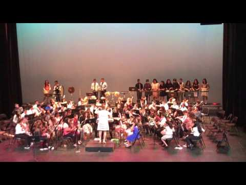 DOTY MIDDLE SCHOOL  SPRING CONCERT BEGINNING BAND