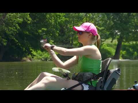 Elkhorn Creek Fishing With Chelsea Rivers