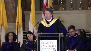 Commencement address: The Honorable Brett M. Kavanaugh