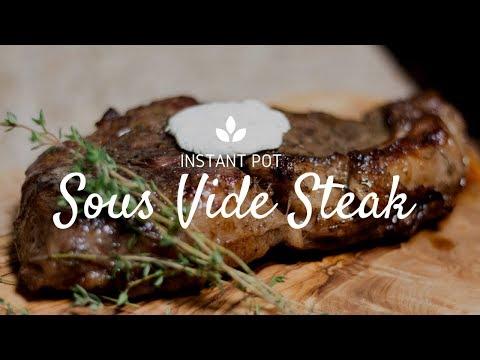 Sous vide Steak | Instant Pot