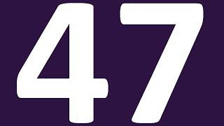 АНГЛИЙСКИЙ ЯЗЫК УРОК 47 УРОВЕНЬ 0  АНГЛИЙСКИЙ С НУЛЯ  АНГЛИЙСКИЙ ДЛЯ НАЧИНАЮЩИХ УРОКИ
