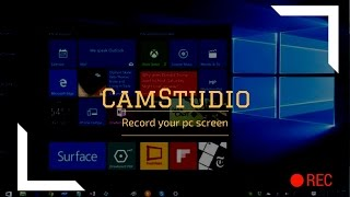 How To Use CamStudio and Record In Your PC/ Laptop