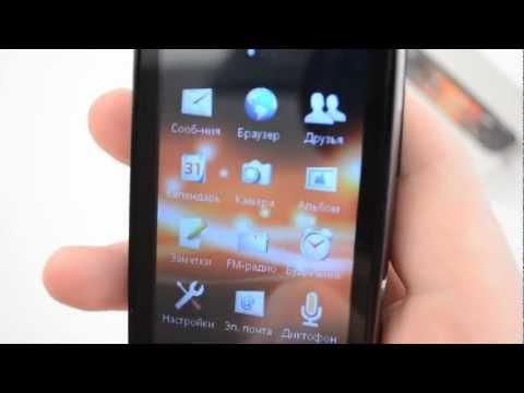 Обзор телефона Sony Ericsson Mix Walkman от Video-shoper.ru