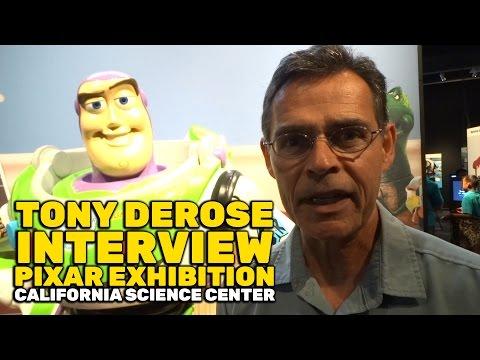 Pixar Senior Scientist Tony DeRose interview for Pixar exhibition at California Science Center