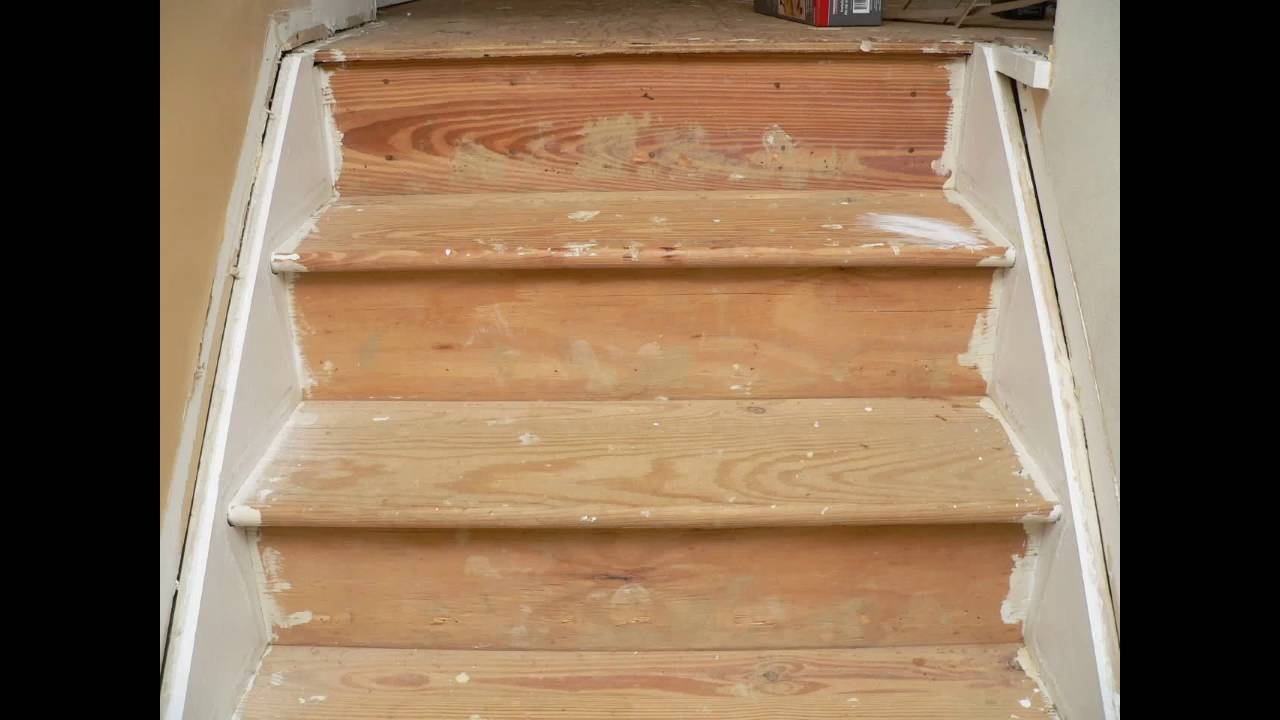 Painting Stair Treads Youtube