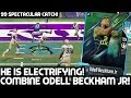 NFL COMBINE ODELL BECKHAM JR IS ELECTRIFYING! RYAN SHAZIER! Madden 18 Ultimate Team