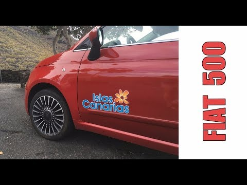 Обзор Fiat 500 | Аренда авто на Канарских островах