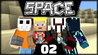 Rein in die Spalte | Minecraft Space Astronomy #02
