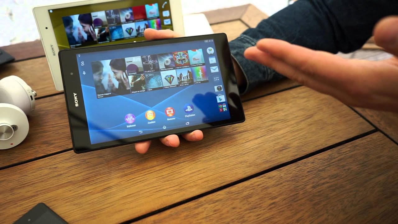 sony xperia  compact tablet youtube