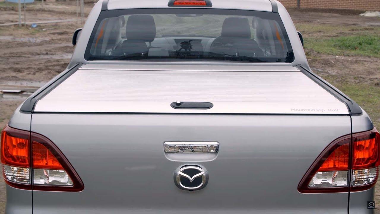 Soft Tonneau Cover >> Mazda BT-50 - Genuine Accessory - Alloy Retractable ...