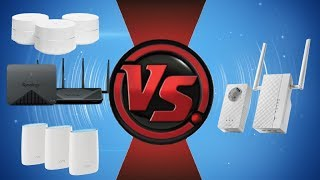 Mesh Routers VS Powerline Adapters and Wi-Fi Extenders