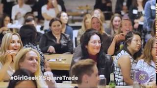 Lean in, Geek Out: Girl Geek X SquareTrade Dinner & Panel Discussion