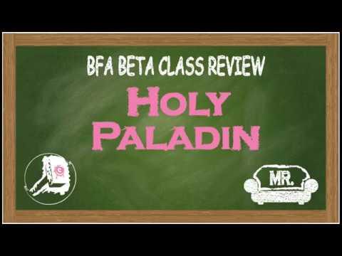Holy Paladin BFA Beta Review