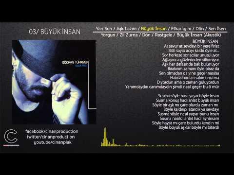 Büyük İnsan - Gökhan Türkmen (Official Video Lyric)
