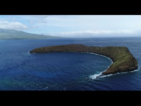 From Maui To Molokini Island With a Drone, 4K60 Footage DJI Phantom 4 Pro