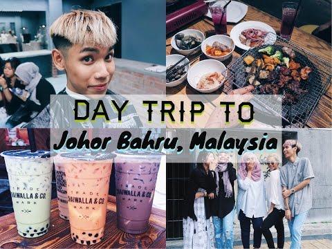 DAY TRIP TO JB, JOHOR BAHRU (Kilang Bateri, Pasar Karat, Komtar...)  // TRAVLOG