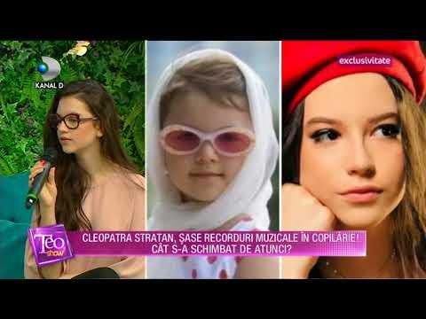 Teo Show (18.06.2018) - Cleopatra Stratan, 6 recorduri muzicale! Partea 3