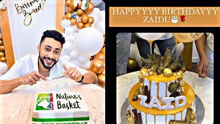 ZAID'S BIRTHDAY VLOG🥳 ALSO DONT MISS THE END, BECAUSE IT'S THE FUN PART NO ONE WOULD WANT TO MISS💃