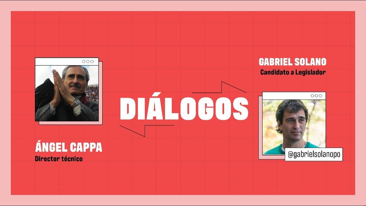 VIVO #Dialogos // Solano y Ángel Cappa, exfutbolista, exentrenador, comentarista, escritor
