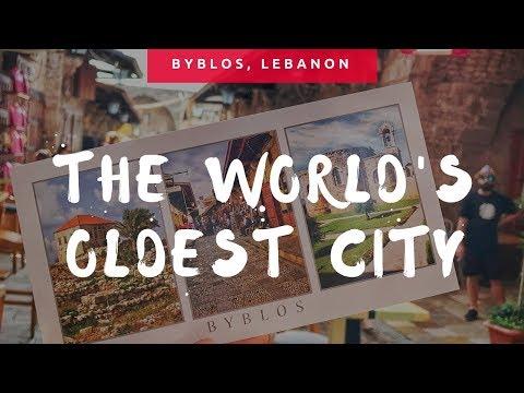 Exploring Byblos, Lebanon
