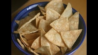 How To Make Corn Tortilla Chips and Cinnamon Sugar Chips
