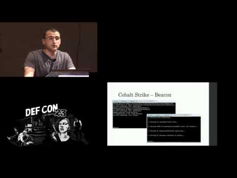 DEF CON 23 -  Rich Kelley - Harness: Powershell Weaponization Made Easy