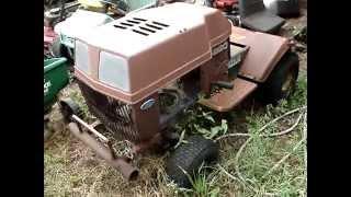 My Tractor Junkyard as of 2013