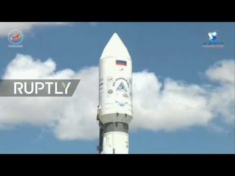 LIVE: Russia launches 'brightest star in the sky' satellite