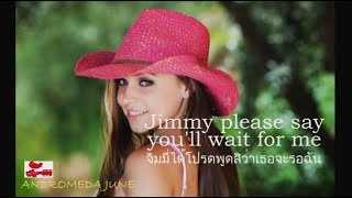 Baixar เพลงสากลแปลไทย #222# Don't Cry Joni - Conway Twitty & Joni Lee Jenkins (Lyrics & Thai subtitle)