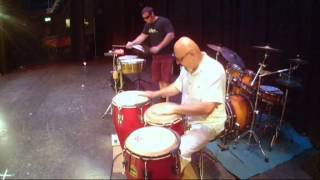 Jazznote Percussion Session - Rumba quaguanco mood