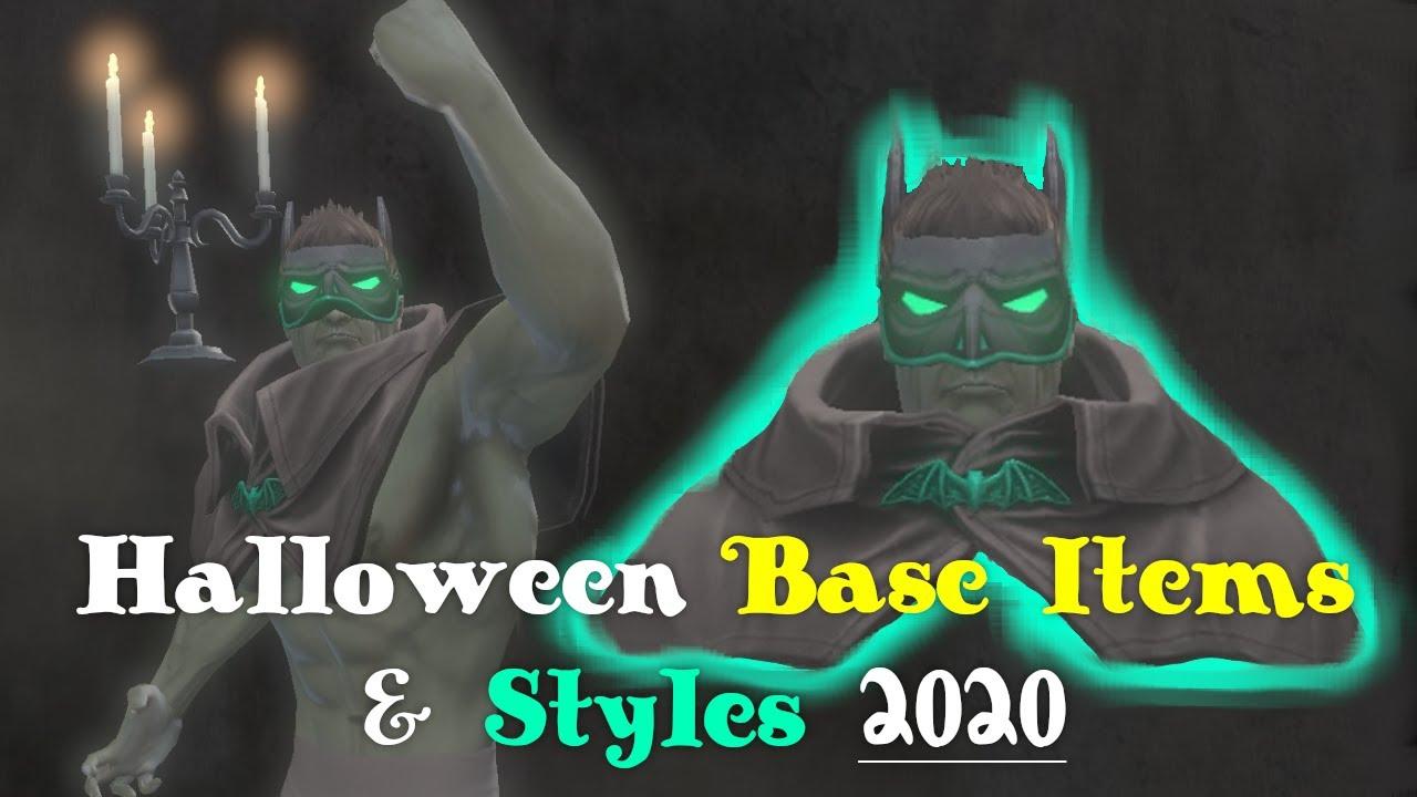 Dcuo Halloween 2020 DCUO   Halloween Base Items & Styles 2020   YouTube