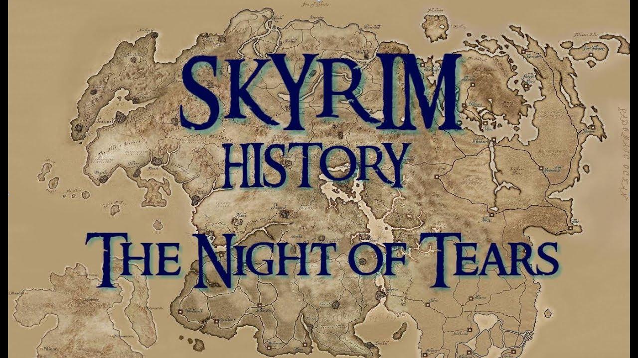 SKYRIM Mysteries: Snow Elves, Eye of Magnus, Ysgramor - the Night of Tears