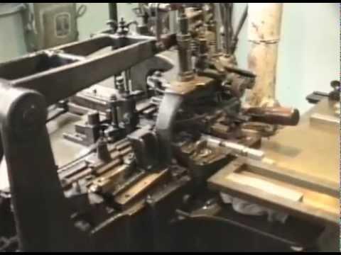 Monotype Machine - Hot Metal Typesetting