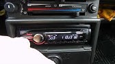 How to install a Sony CDX-GT420U car stereo - YouTube Diagram Car Sony Wiring Stereo Cda Gt Mp on