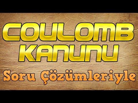 Coulomb Kanunu (Elektriksel Kuvvet)  Soru Çözümleri ile Birlikte