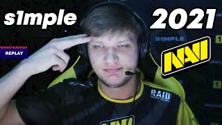 S1MPLE - 2021 - HIGHLIGHTS | CSGO
