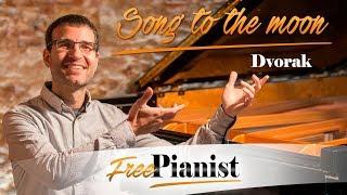 Song to the moon - KARAOKE / PIANO ACCOMPANIMENT - Rusalka - Dvorak