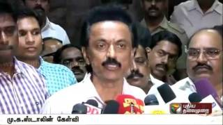 Stalin complains of irregularities in vote counting process
