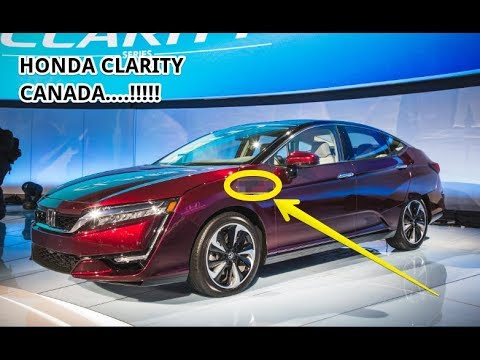 2018 Honda Clarity Canada Amazing Cars