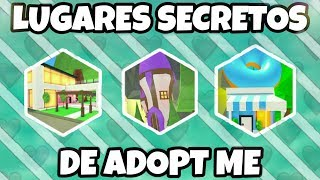 HIDDEN PLACES IN ADOPT ME ROBLOX HOUSES! 🏠 / Morii :3