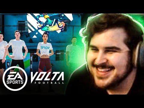 ESTREIA NO VOLTA FOOTBALL! TESTANDO O NOVO MODO DO FIFA 20 Ultimate Team
