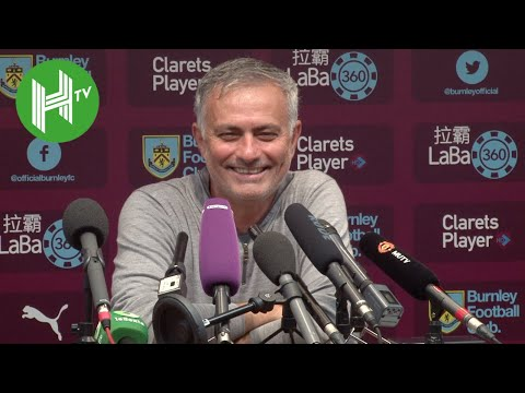 Jose Mourinho comes up smiling as Manchester United beat Burnley