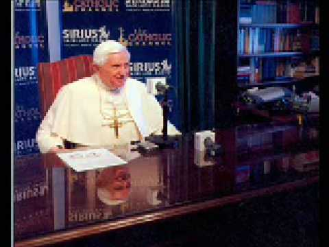 Pope Benedict XVI on The Catholic Channel // SiriusXM