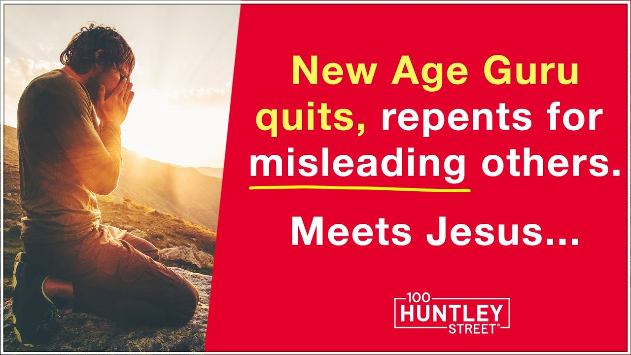 Download New Age to Christianity: Guru encounters Jesus & quits New Age (astral projection)