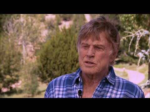 "Robert Redford on acting: ""That's enough"""