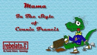 Mama - Connie Francis - Online Karaoke Version